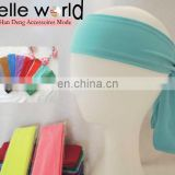 Hot fashion long size cotton spandex headband for unisex