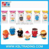 2015 new small wind up plastic food toy for gift