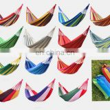 2USD Stock outdoor sleeping hanging camping hammock