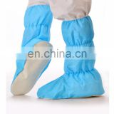 Disposable nonwoven nonslip surgical boots