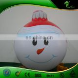 Hot Selling Christmas Ornament, Inflatable Snowman Hanging ball