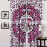 New Matrix Door Dorm Decor Drape BedRoom Cotton Balcony Indian Mandala Curtains