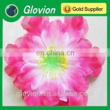 New design hot sales artificial flower LED flashing brooches