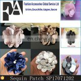 Wholesale Customized Pearl Rhinestone Sequin Flower Patches