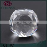 Pujiang Manufacturer High quality vintage crystal transparent feng shui ball