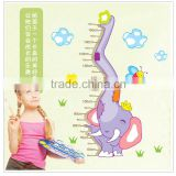 Lovely Home Decoration Kids Growing Up Body Height Measurement Wall Sticker