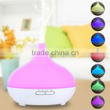 300ml Big Capacity Ultrasonic Aroma Room Diffuser Essential Oil Humidifier Auto Power Off When Water Runs Out