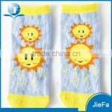 Cute young boy girl child sunshine tube sock