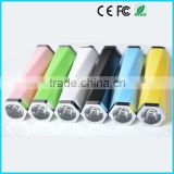 LED 2600mAh power bank power safe battery charger for smart mobile