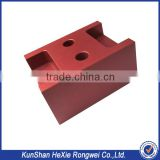 custom extruded red anodize aluminum profile parts                                                                                                         Supplier's Choice