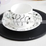 hot selling popular custom heat insulation perfect protect rubber cup mat/coaster for high level life style