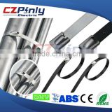 304 316 stainless steel band cable ties