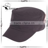 cheap custom flat top military style baseball cap