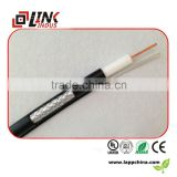 Cable television rg59 full copper wire PVC insulation coaxial audio cable