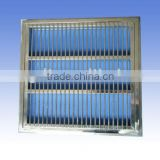 Stainless steel main drain cover for swimming pools