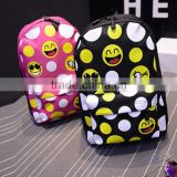 emoji qq smile face canvas daypack backpack cool Cute Emoji Backpack Cool Kids School Backpack