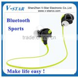 2015 china factory price wireless stereo bluetooth headset / Fashion portable sport bluetooth headset with Noise cancelling