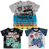 2015 infant wear high quality products cool design half sleeve Japanese wholesale t shirt toddlers baby boy clothes 0-3 months