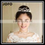 New Fashion Handmade Pearl Beads Hair Tiaras And Crowns Tiara For Wedding Hair Accessories SCC0327