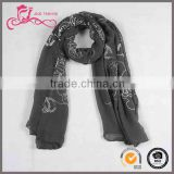 Factory supply low price 100 viscose vietnam scarf