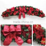 Christmas Door Hanging Decoration PVC Christmas Wreath                                                                         Quality Choice