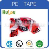 manufacturer PE warning barrier tape non glue