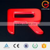 Custom cheap outdoor waterproof luminous acrylic golden coating alphabet letter                                                                                                         Supplier's Choice