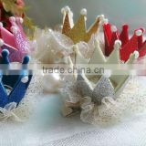 Baby Girl Hairpin Crown Pearl Princess Hair Clip for Kids Party Accessories Headwear clothes CB-3608