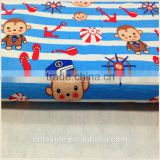High quality competitive price wholesale reactive printed canvas fabric/child cartoon canvas fabric bag fabric