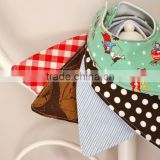 2016 Summer selling organic cotton baby bandana bibs available in multi colour in Single Pack
