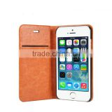 Real leather case for apple iphone 6 flip case, For Iphone 6 case New arrived 4.7 inch cover TPU+PC material
