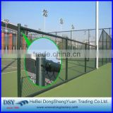 Sports ground chain link fence/Hot Dipped Galvanized Farm Fencing Chain Link Fence/cheap galvanized pvc