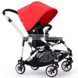 Squirrel Exquisite and Light Small Electric Stroller High Quality 2016 Baby Products with rain cover