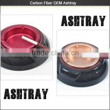 Top selling Carbon fiber Ashtrays gift set , carbon fiber Cigar Ashtray for Smoking Accessories