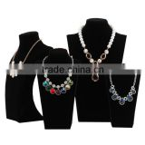 Elegant High Quality Velvet Jewelry Display Necklace Stand Supplier                                                                         Quality Choice