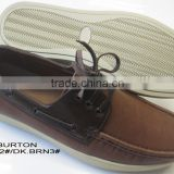 2015 high quality white outsole of mens boat shoes