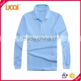 Cheap New Fashion Men's Sweater Casual Polo Shirt, Blank Custom Polo Tshirt, Long Sleeve Polo