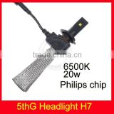 Top quality 5th generation headlight car head lamp for Toyota