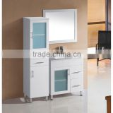 Modern 48 inch floor mounted single sink ceramic top bathroom cabinet vanity furniture bath vanity                                                                         Quality Choice