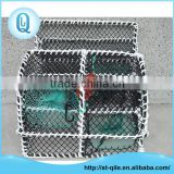 Cheap aquaculture equipment high strong durable pe net crab fishing trap