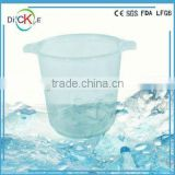 High-capacity plastic ice bucket wedding ice buckets wine coolers ice buckets and wine stands