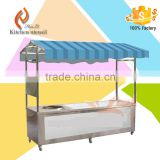 Vietnam Outdoor Stainless Steel Food Stalls for noodle