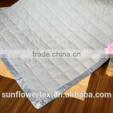 Luxury down blanket&down throw comfortable used in summer etc