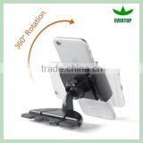 TS-VPH06 Easy operation 2015 new portable cd slot car mount universal cd slot mount phone holder for iphone 6 6plus samsung s3