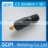 Welding Cable Plug Male Connector Femal Socket For MIG TIG ARC Plasma Welding