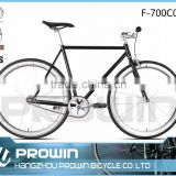 2016 700C steel frame material steel fork material single speed fixie bicycle (F-700C037)