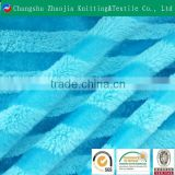 Healthy comfortable handfeel 100% polyester PV plush garment fabric,wholesale garment fabric,knitted fabric for garment
