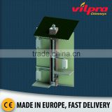 Concentric air / flue stainless steel chimney system for stove, fireplace