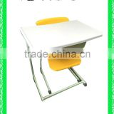 modern school desk with bench HXZY031