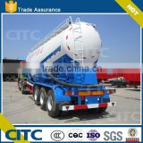 CITC Bulk cement bulker tanker truck semi trailer/bulk cement trailer (volume optional) with high quality
